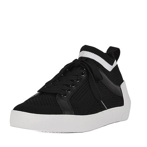 Ash Footwear Zapatos Nolita Zapatillas de Cuero Negro Mujer ...