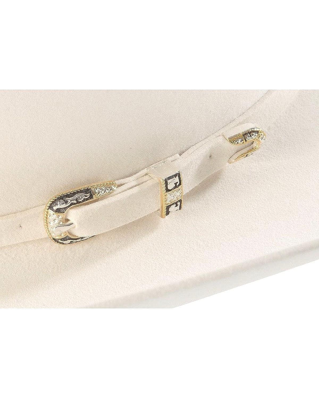 5c15a39b Larry Mahan Men's 10X Oro Blanco Felt Cowboy Hat at Amazon Men's Clothing  store: