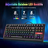 LINGYI Gaming Mechanical Keyboard 87 Keys