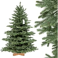 FairyTrees Artificial Árbol Navideño Abeto Alpino Premium, Material