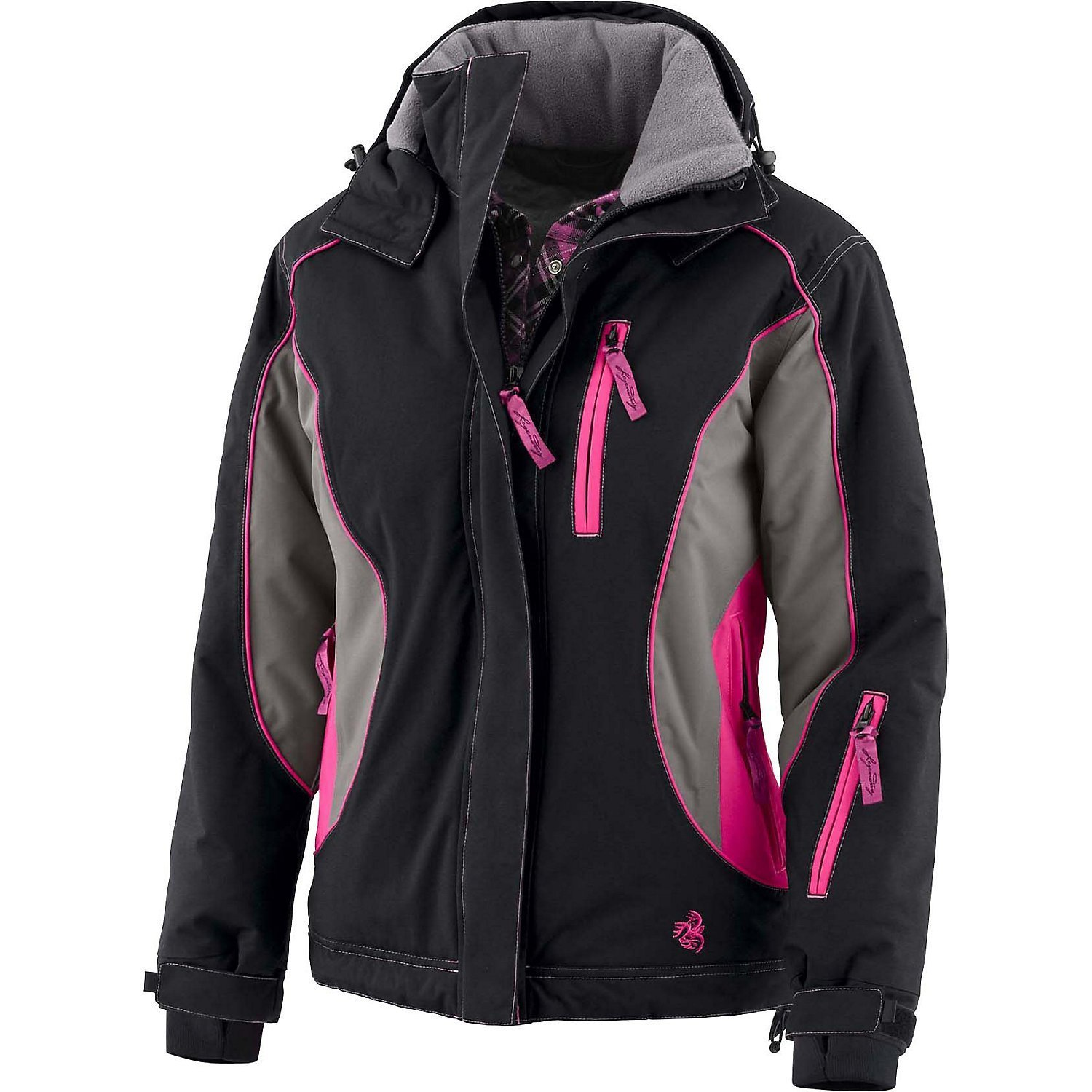 Legendary Whitetails Women's Polar Trail Pro Series Winter Jacket Black XX-Large