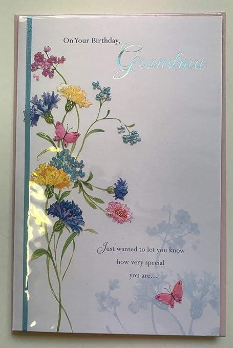 En tu cumpleaños abuela, Tarjeta de felicitaciones de ...