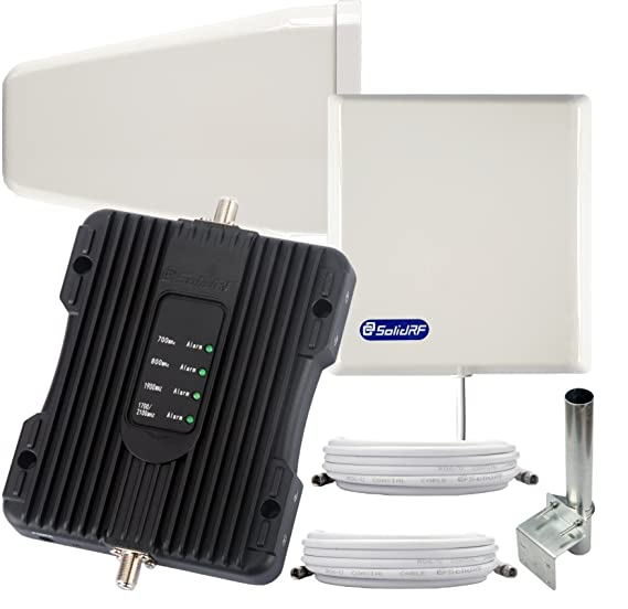 Amazon.com: SolidRF BuildingForce 4G K1 Cell Phone Booster For Home ...