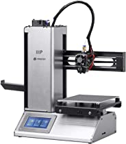 Monoprice 133012 Select Mini Pro 3D Printer - Aluminum With (120 X 120 X 120 Mm) Auto Level Heated Bed, Touch Screen Display,