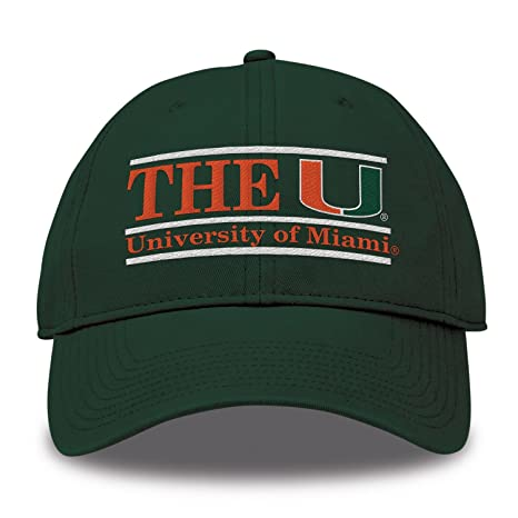 huge discount 2e6be 5a702 ... caneswear at miami fanwear 96d99 21e6b  where can i buy amazon the game  ncaa miami hurricanes bar design classic relaxed twil hat