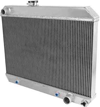 Champion Racing 3 Row Aluminum Radiator For 1965-67 Pontiac Cars