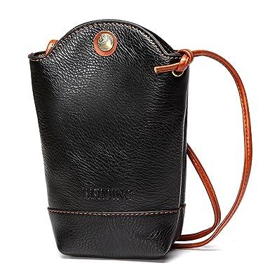 Amazon.com: joseko Mujer Irregular Little bolsa de teléfono ...