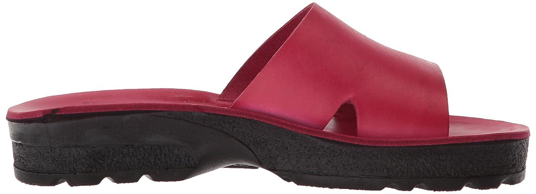Jerusalem Sandals Slide Women's Bashan Molded Footbed Slide Sandals Sandal B075KYJTJ6 42 Medium EU (11-11.5 US) Pink 358534