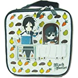 Black Butler SD Charcters Lunch Bag Great Eastern Entertainment ge11127