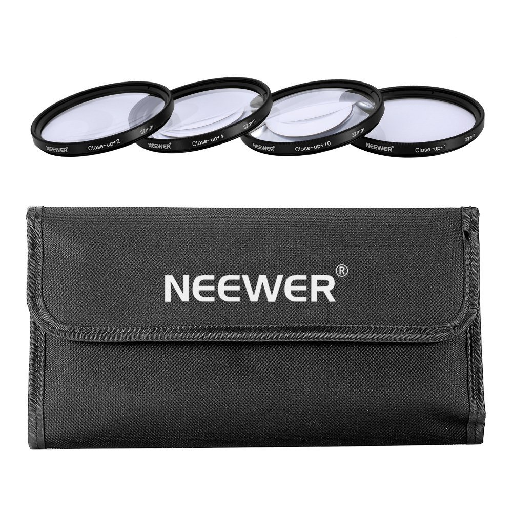 Neewer 52Mm 4Pc Close-Up Kit Macro Lenses For Nikon D40 D40X D60 & All Other 52Mm Lenses