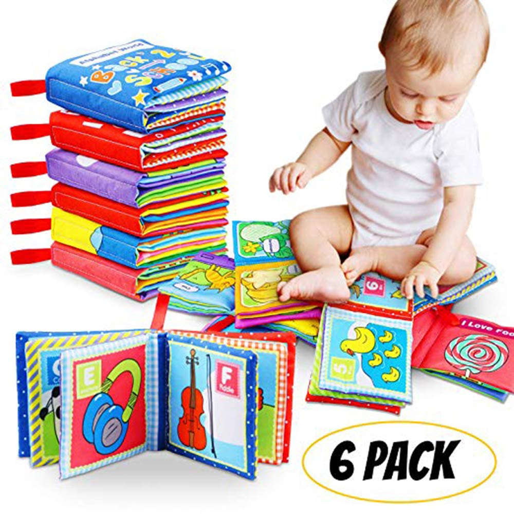 Early Education Intelligence Development Book Animals Baby Cloth Book Baby Toy