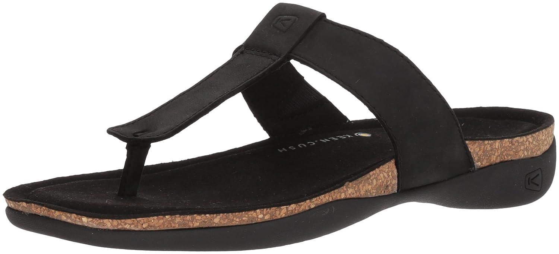 KEEN Women's Ana Cortez Flip-W Sandal B06ZYS2T2B 9 B(M) US|Black