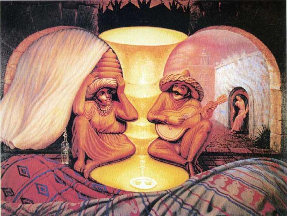 3d Salvador Dali - This Surrealist Painter Creates Amazing Optical Illusion Art Work