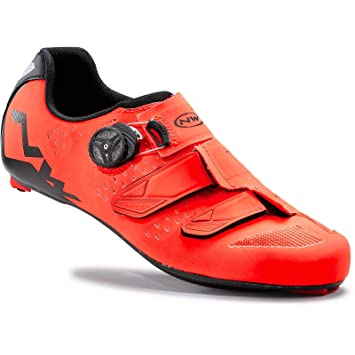 Zapatillas Northwave Phantom Carbon Naranja-Negro 2016