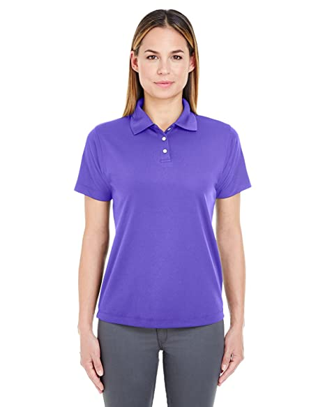 d26f8e4f UltraClub Ladies' Cool & Dry Stain-Release Performance Polo XS Purple
