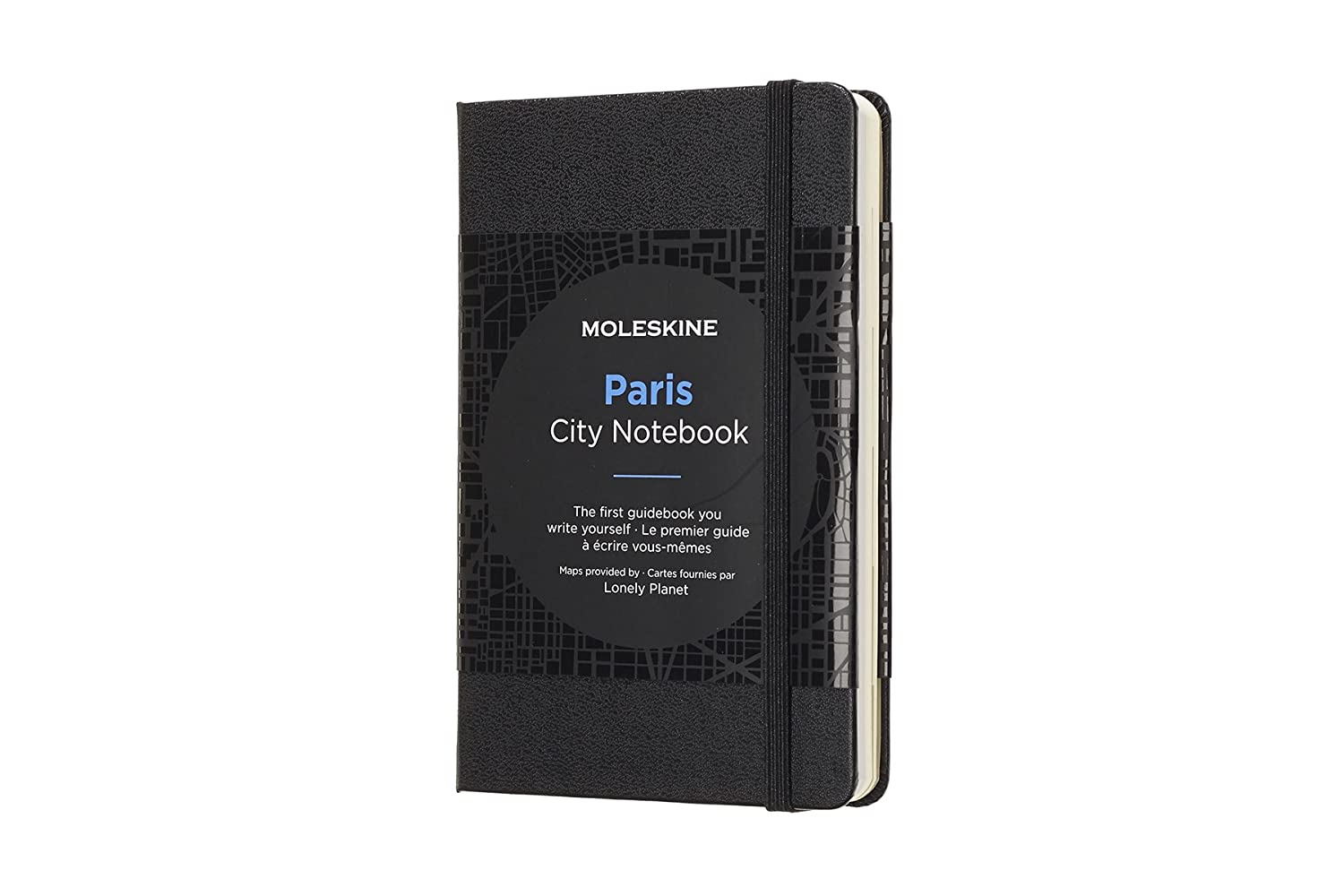 Moleskine City Notebook Paris, Pocket, Black, Hard Cover (3.5 x 5.5) CNPAR NON-CLASSIFIABLE Travel/Europe - France