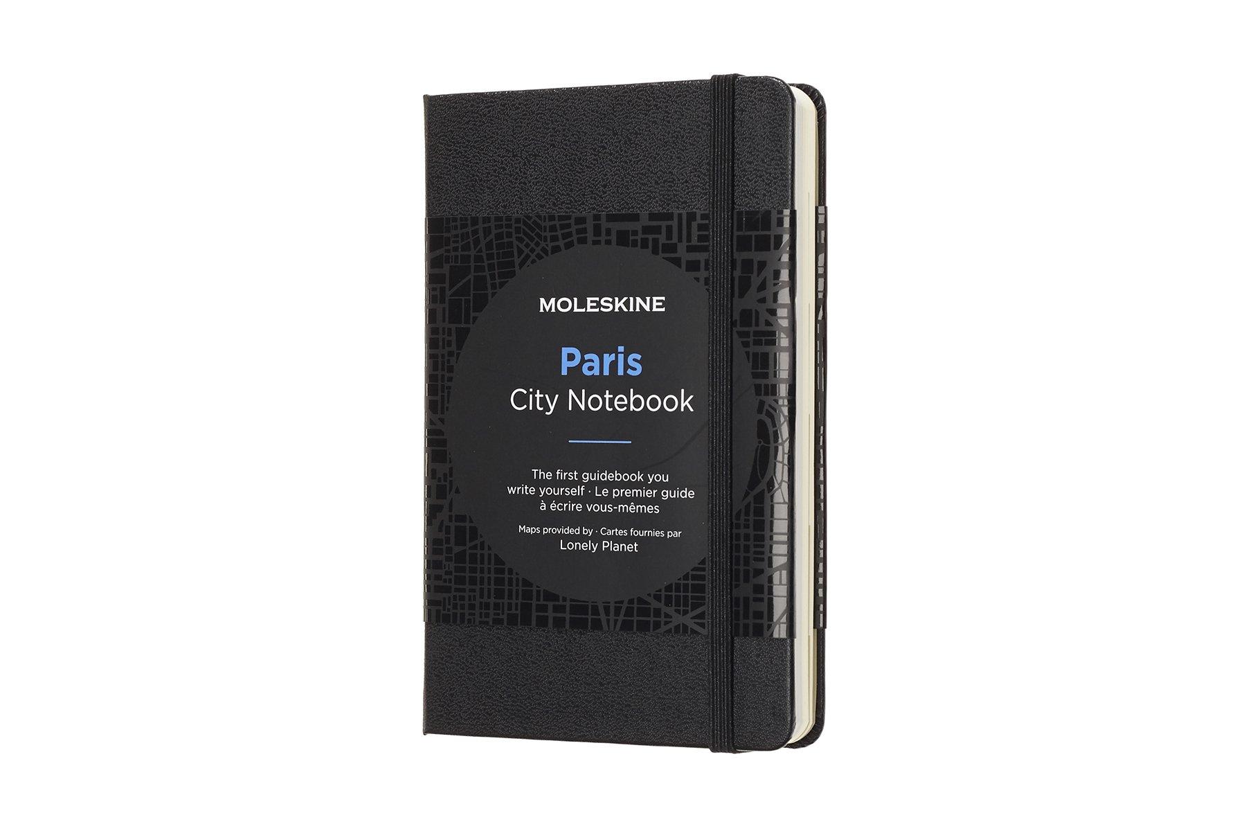 Moleskine City Notebook Paris, Pocket, Black, Hard Cover...