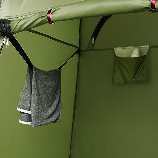 Ancheer - Tienda de campaña portátil con funda para inodoro, ducha, vestuario al aire libre, Typ3: Amazon.es: Deportes y aire libre