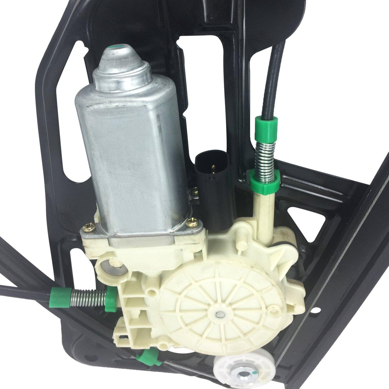 SKP SK741483 Power Window Motor and Regulator Assembly