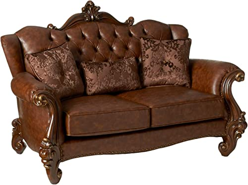ACME Versailles Loveseat w/3 Pillows