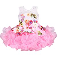 Wish Karo Baby Girls Frock Dress - Scuba - (bxa158)