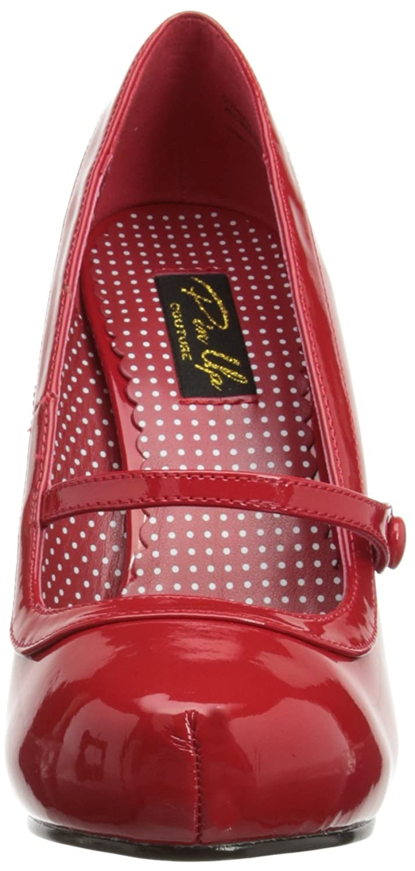 Pleaser Women's Cutiepie-02/R Mary Jane Pump Patent B00A0ITDIW 7 B(M) US|Red Patent Pump 063f49