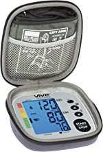 Vive Precision Blood Pressure Monitor Case - Hard Medical Travel Carrying