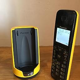Amazon パイオニア Tf Fd15s デジタルコードレス電話機 親機のみ 迷惑電話対策 イエロー Tf Fd15s Y パイオニア Pioneer 電話機本体
