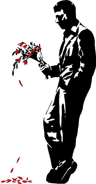 HELL/'S KITCHEN Banksy Graffiti Grande decorazioni adesivi vinile di qualità