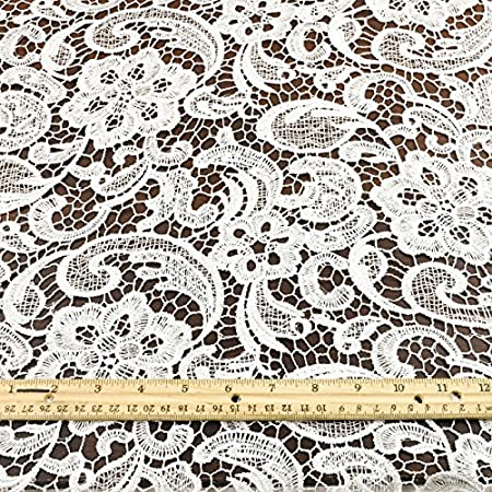 bridal clothing Diy costumes 1 38 White Lace By the Yard Crafts Inch Wide Undergarments