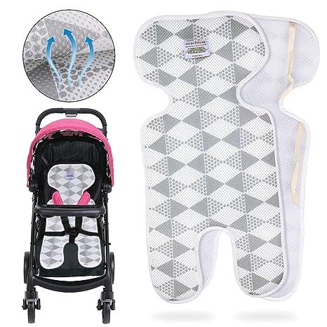 Bebé Colchoneta Silla Paseo,DIAOPROTECT Universal Transpirable/Asiento de verano para cochecitos, sillitas de coche y maxicosi, Infantil del bebé ...
