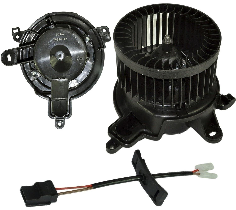 Calentador Blower Motor ventilador sin A/C 644195, 6441.95: Amazon.es: Coche y moto