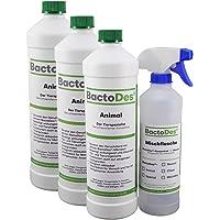 BactoDes Animal Tier-Geruchsentferner Konzentrat Effektiver Geruchskiller Katzenurin
