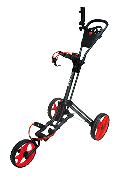 Amazon.com : Founders Club 2016 Qwik Fold 3.5 3 Wheel Golf Push Pull on golf cart awning, golf cart speed governor, golf cart air conditioner, golf cart handles, golf cart key switch, golf cart steering wheel,