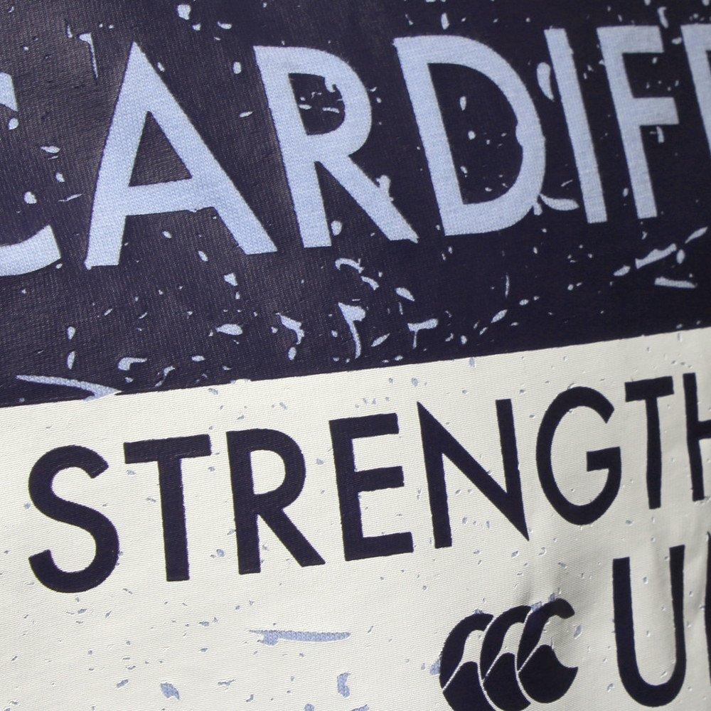 Cardiff Blues 2015//16 Tshirt de Rugby Coton Graphique