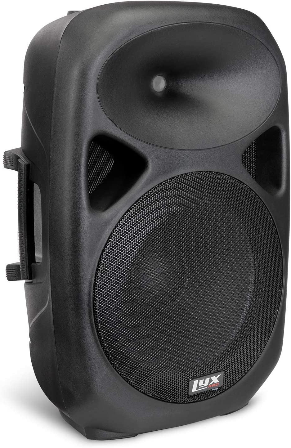 """LyxPro 15 Inch PA Active Speaker System Compact And Portable With Equalizer, Bluetooth, MP3, USB, SD Card Slot, XLR, 1/4"""", 3.5mm Input, Carry Handles, SPA-15"""