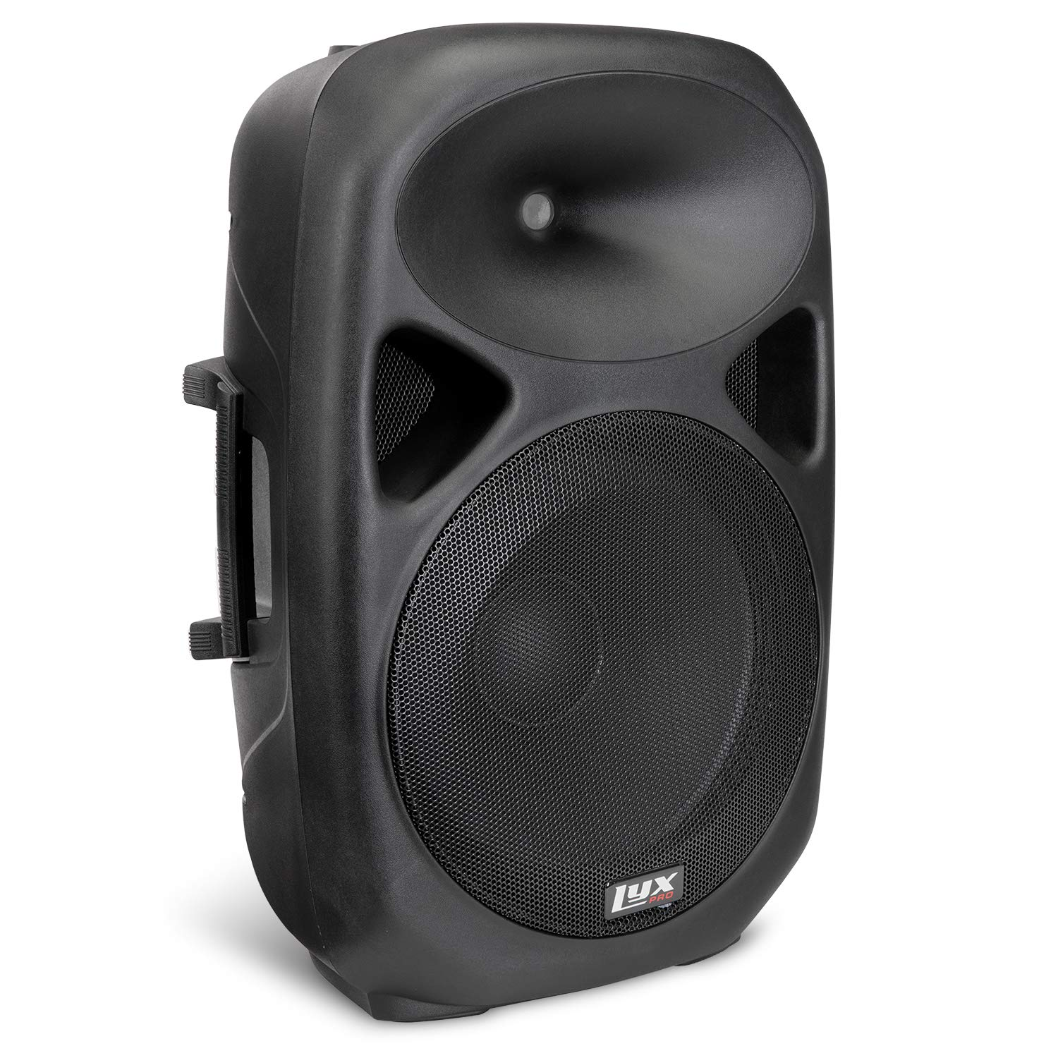 LyxPro 15'' Compact Portable PA System Professional Active Speaker with Equalizer, Bluetooth, SD Slot, USB, MP3, XLR, 1/4'', 3.5mm Input - SPA-15