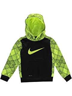 6cef020a Amazon.com: Nike Kids Mens Mesh Face Therma Pullover Hoodie (Little ...