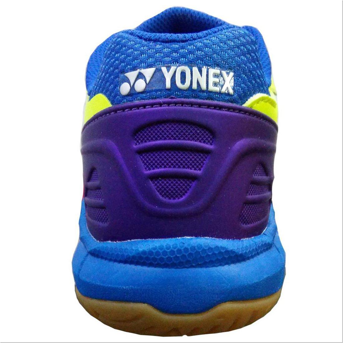 Yonex Yonex Yonex Court Ace Tough Gumsloe Badminton-Sportschuhe, Limettengrün Blau   lilat 24d334