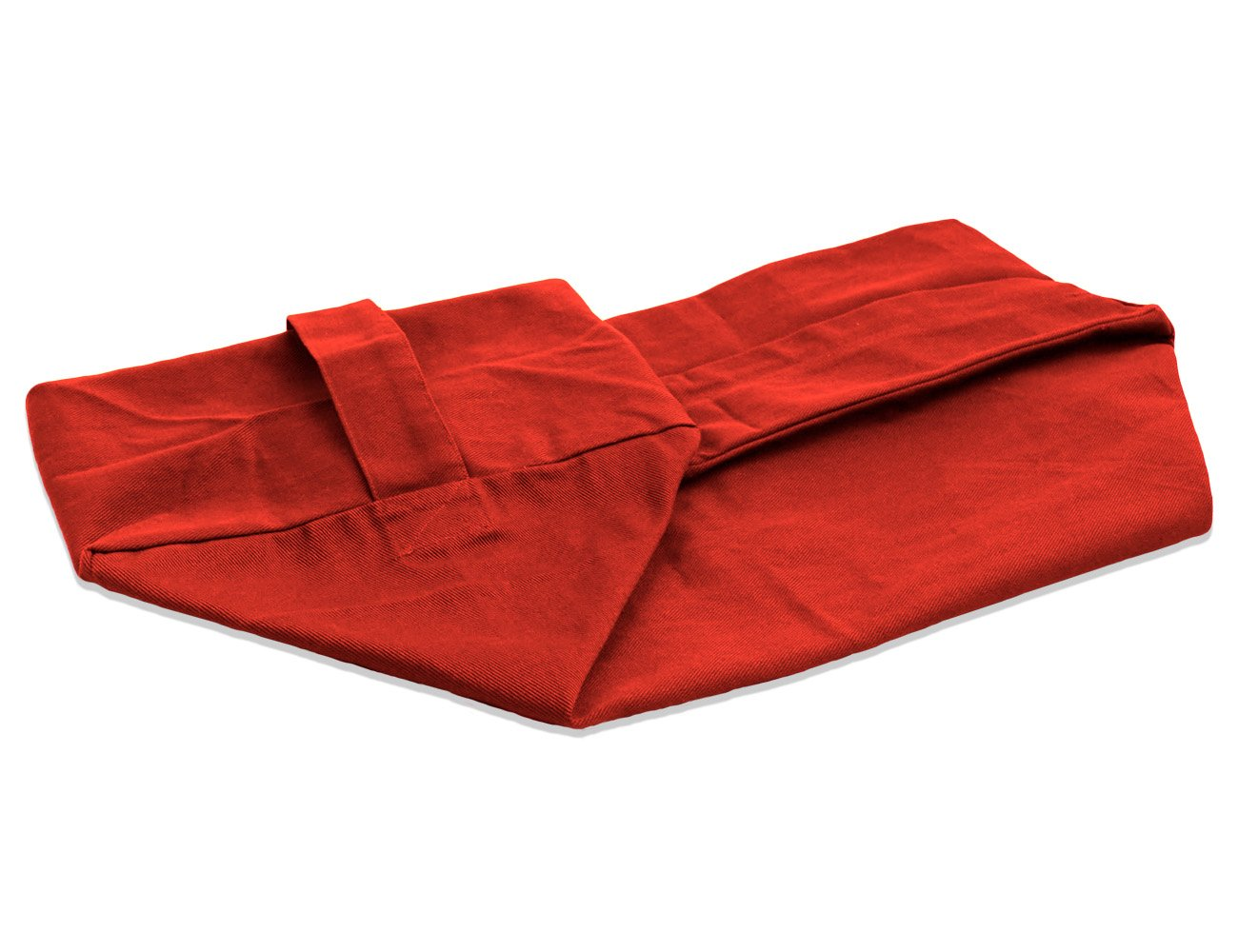 YogaAccessories Cover for Rectangular Cotton Yoga Bolster