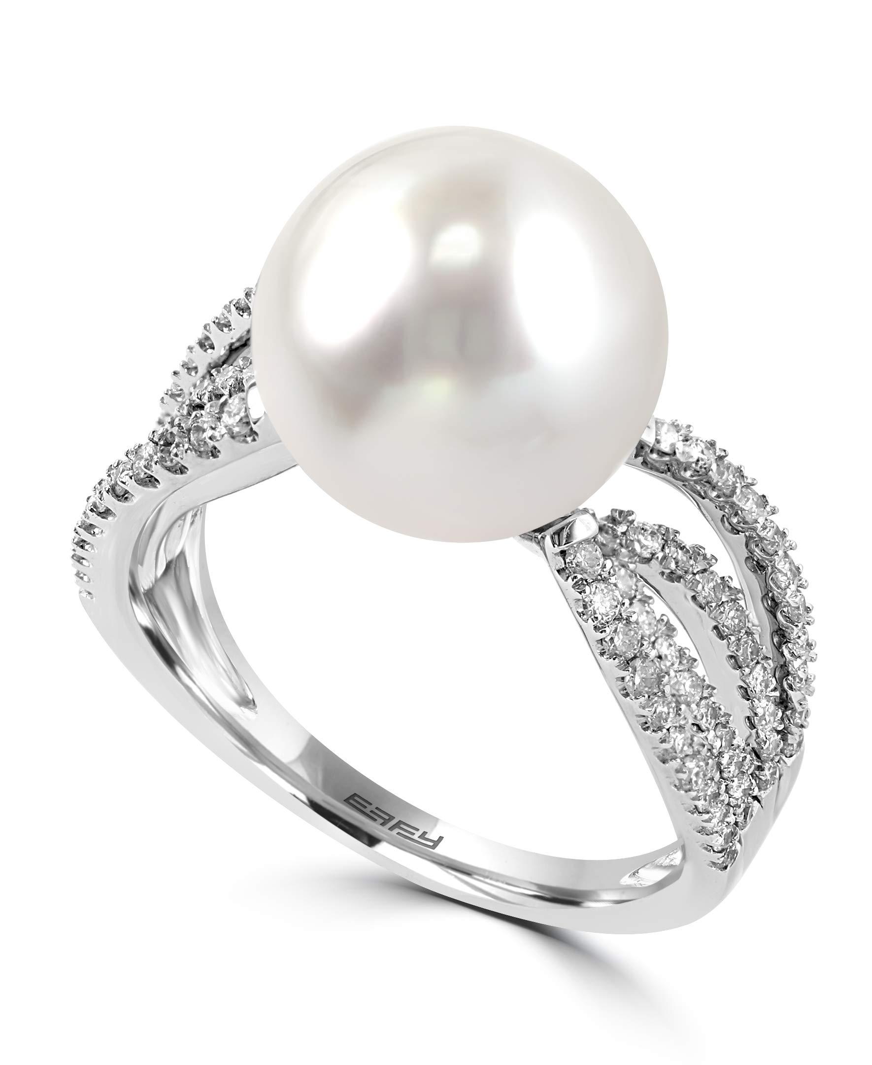 Effy Pearl South Sea Pearl (11-12mm) & Diamond (1/2 ct. t.w.) Ring by Effy