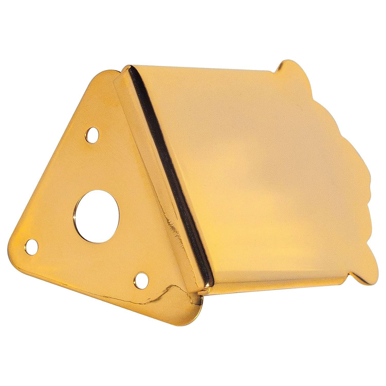 Golden Gate M-132 Traditional Mandolin Tailpiece - Gold