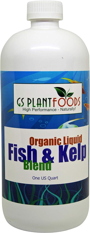 Organic Fish and Kelp Blend, 32 fl. oz