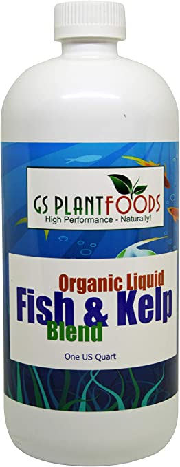 Organic Fish and Kelp Blend, 32 fl. oz