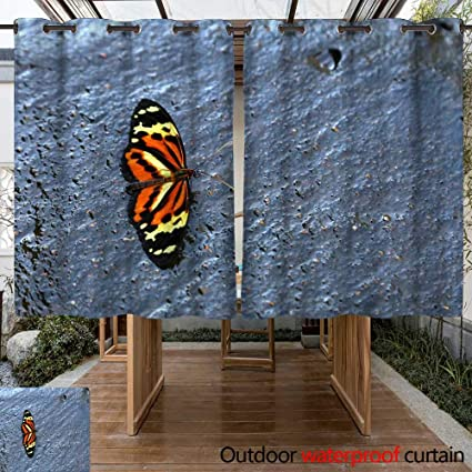 Amazon Com Winfreydecor Outdoor Curtains For Patio Waterproof
