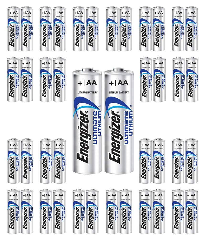 720x Energlzer AA Lithium Batteries Ultimate L91 Exp:2038 USA Wholesale Lot