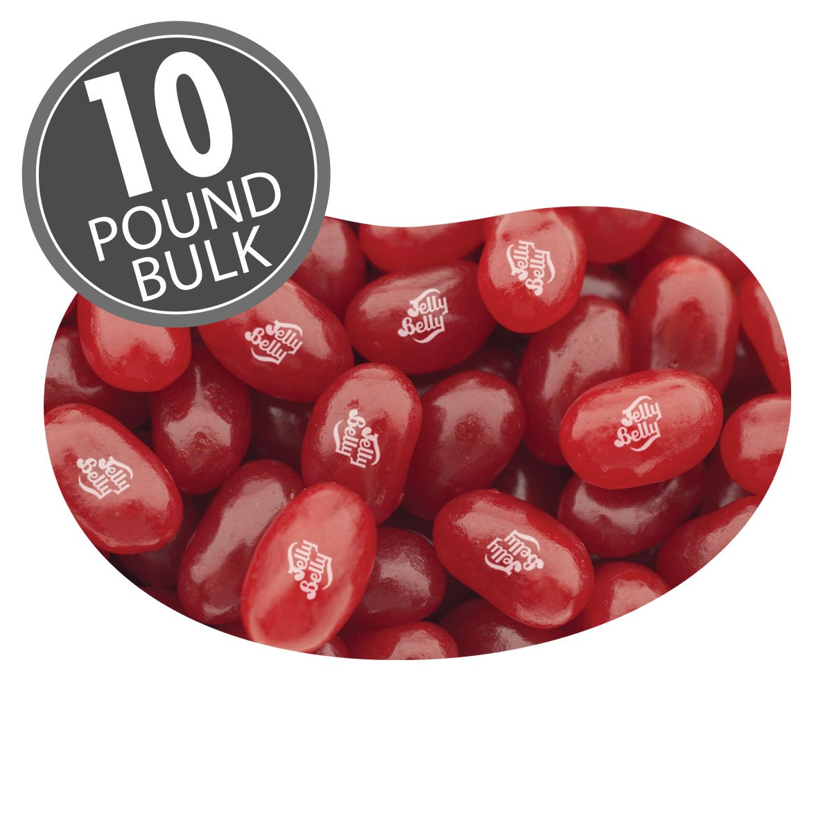 Jelly Belly Cranberry Sauce Jelly Belly - 10 lb Bulk Case - Official, Genuine, Straight from the Source by Jelly Belly