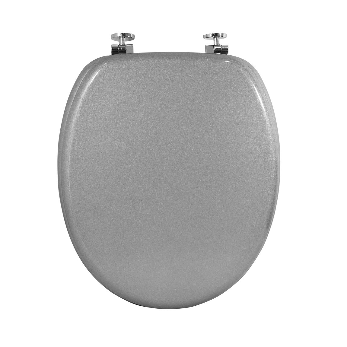 carpemodo wc sitz toilettendeckel holz deckel grau ebay. Black Bedroom Furniture Sets. Home Design Ideas