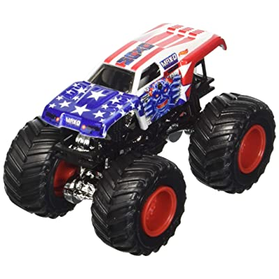 Hot Wheels Monster Jam 2020 Stars and Stripes Max-D Maximum Destruction 1:64 Scale: Toys & Games