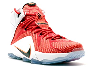 530fc1338c6 Nike Lebron XII Heart Of A Lion Men s Shoes University Red Black-White-